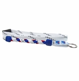 Swanny's New York Rangers Skate Lace Lanyard