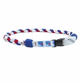 Swanny's New York Rangers Skate Lace Necklace