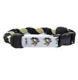Swanny's Pittsburgh Penguins Skate Lace Bracelet