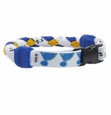 Swanny's St. Louis Blues Skate Lace Bracelet