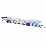 Swanny's St. Louis Blues Skate Lace Lanyard