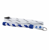 Swanny's Toronto Maple Leafs Skate Lace Lanyard