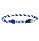 Swanny's Toronto Maple Leafs Skate Lace Necklace