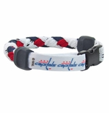 Swanny's Washington Capitals Skate Lace Bracelet