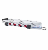 Swanny's Washington Capitals Skate Lace Lanyard