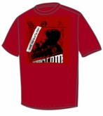Hockey Monkey Propaganda Yth. Tee Shirt