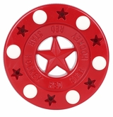 Red Star Bullet Roller Hockey Puck