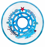 Red Star Spitfire 78A Inline Hockey Wheel - Clear