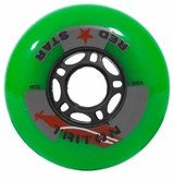 Red Star Triton 82A Inline Hockey Wheel - Green