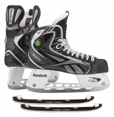 Reebok 18K Pump Sr. Ice Hockey Skates w/ Free Rocket Runners