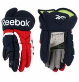 Reebok 7K Kinetic Fit Nylon Jr. Hockey Gloves