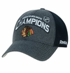Chicago Blackhawks Reebok Conference Champions Adjustable Cap