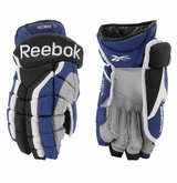 Tampa Bay Lightning Reebok KFS Pro Stock Hockey Gloves - Hedman #77
