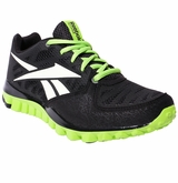 Reebok Realflex Transition 2.0 Boys Training Shoes - Black/Green