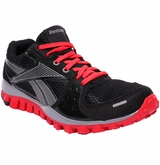 Reebok Realflex Transition 2.0 Boys Training Shoes - Black/Red/Gray
