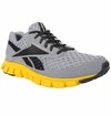 Reebok SmoothFlex Cushrun Men's Training Shoes - Tin Gray/Gravel/Yellow