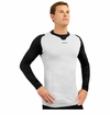 Reebok T7003 Sr. Seamless Compression Fit Long Sleeve Tee