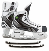Reebok White K Pump Sr. Ice Hockey Skates w/ Free Rocket Runners