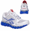 Reebok ZigLite Boy's Training Shoes - Steel/White/Blue