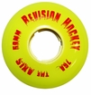 Revision Axis 76a Roller Hockey Goalie Wheel - Yellow