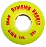 Revision Axis 76a Inline Hockey Goalie Wheel - Yellow