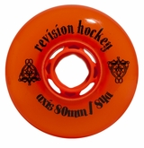 Revision Axis Outdoor 84A Inline Hockey Wheel - Orange