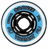 Revision Variant Bronze 76A Inline Hockey Wheel - Blue