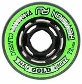 Revision Variant Classic Soft Indoor 74A Roller Hockey Wheel - Green