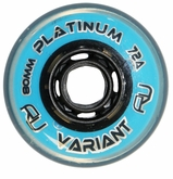 Revision Variant Platinum 72A Inline Hockey Wheel - Blue