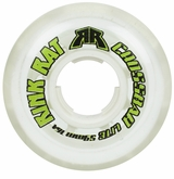 Rink Rat Crossbar Lite XXX 76A Roller Hockey Goalie Wheel - White/Green