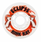 Rink Rat Eclipse Indoor 76A Inline Hockey Wheel - White/Red