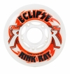 Rink Rat Eclipse Indoor 76A Roller Hockey Wheel - White/Red