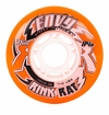 Rink Rat Envy Pro Street 84A Roller Hockey Wheel - Orange/White