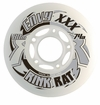 Rink Rat Envy XXX 74A Roller Hockey Wheel - White/Gray