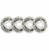 Rink Rat Envy XXX 74A Roller Hockey Wheel - White/Gray - 4 Pack