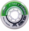 Rink Rat Hornet Split XX 78A Inline Hockey Wheel - Green/White '13