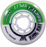 Rink Rat Hornet Split XX 78A Roller Hockey Wheel - Green/White '13