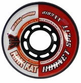 Rink Rat Hornet Split XX 78A Inline Hockey Wheel - Red/White '12