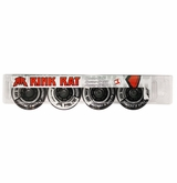 Rink Rat Hornet Split XXX 76A Inline Hockey Wheel - Black/White '12 - 4 Pack