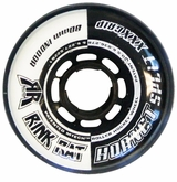 Rink Rat Hornet Split XXX 76A Inline Hockey Wheel - Black/White '12