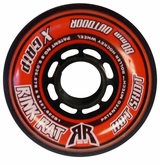 Rink Rat Hotshot X 84A Inline Hockey Wheel - Orange/Black '12