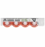Rink Rat Hotshot X 84A Roller Hockey Wheel - Orange/White '13 - 4 Pack