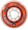 Rink Rat Hotshot X 84A Roller Hockey Wheel - Orange/White '13