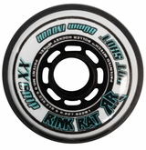 Rink Rat Hotshot XX 78A Roller Hockey Wheel - White/Blue '12
