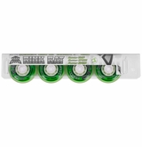 Rink Rat Hotshot XXX 76A Roller Hockey Wheel - Green/White '13 - 4 Pack