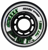 Rink Rat Hotshot XXX 76A Inline Hockey Wheel - White/Green '12