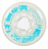 Rink Rat Identity Conflict 78A Inline Hockey Wheel  - White/Blue