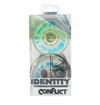 Rink Rat Identity Conflict 78A Roller Hockey Wheel - White/Blue - 4 Pack