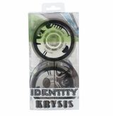 Rink Rat Identity Krysis 76A Inline Hockey Wheel - Black/White - 4 Pack