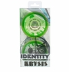 Rink Rat Identity Krysis 78A Roller Hockey Wheel - Green/White - 4 Pack